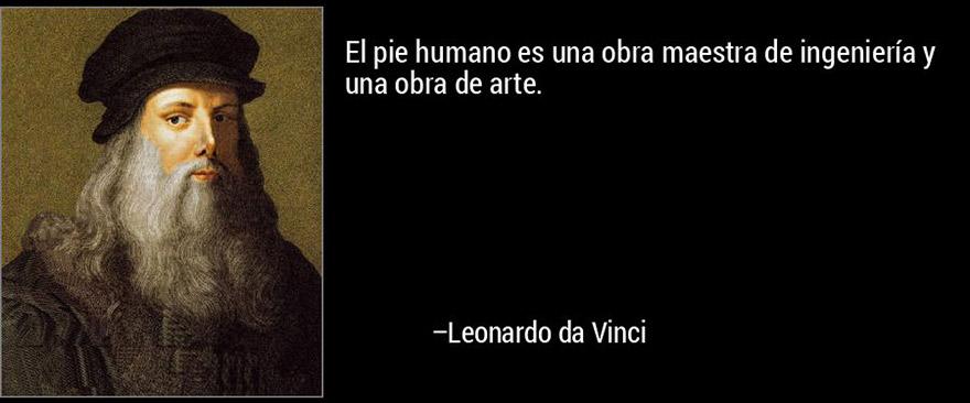 Pies por Leonardo Da Vinci